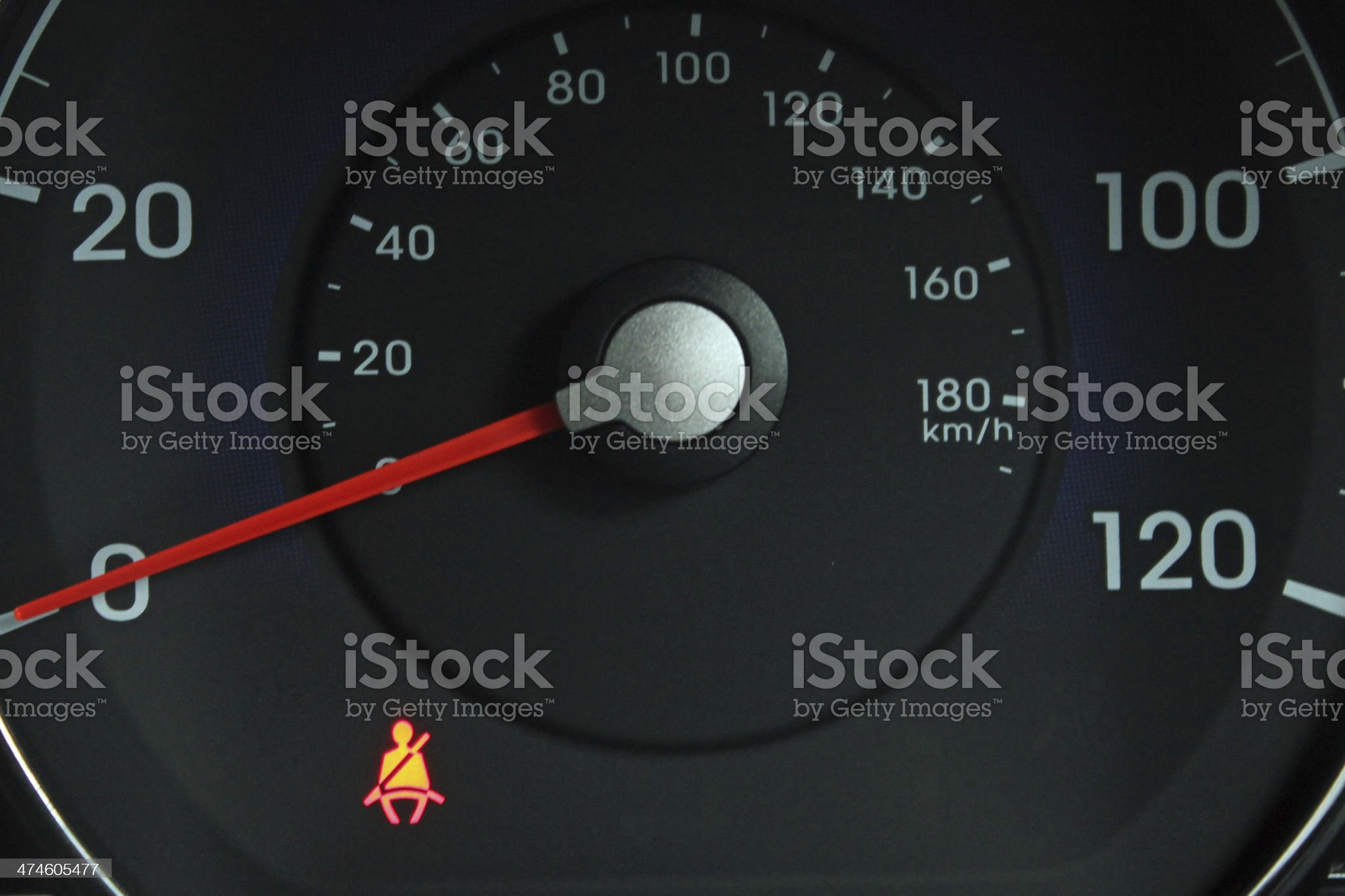 Don't forget your seatbelt royalty-free stock photo