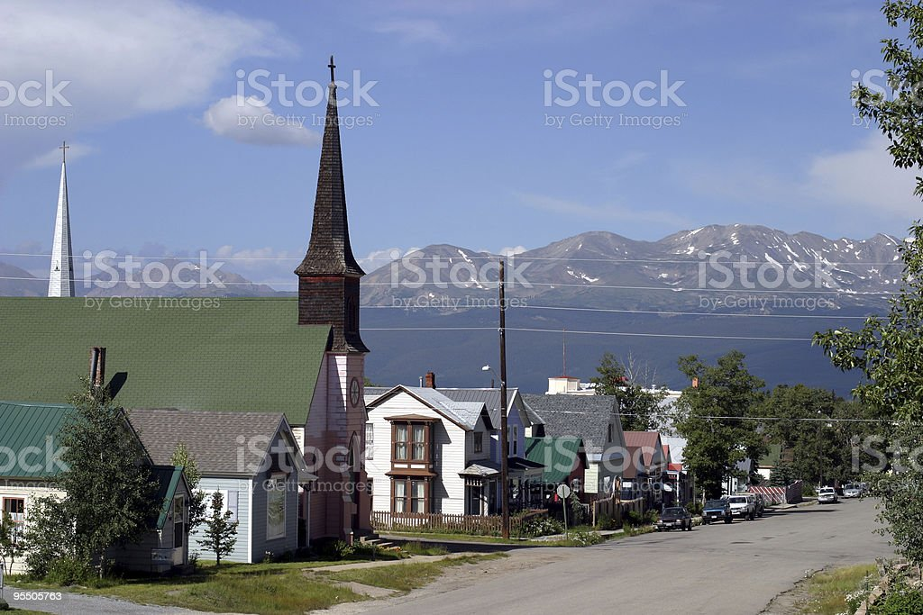Don't go back to Leadville stock photo