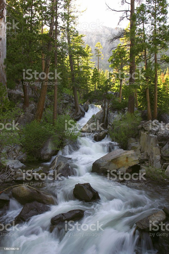Don't Go Chasing Waterfalls royalty-free stock photo