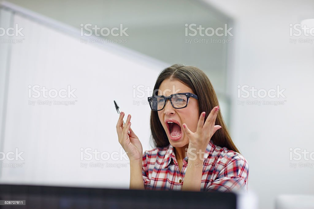 I don't have the patience for this stock photo