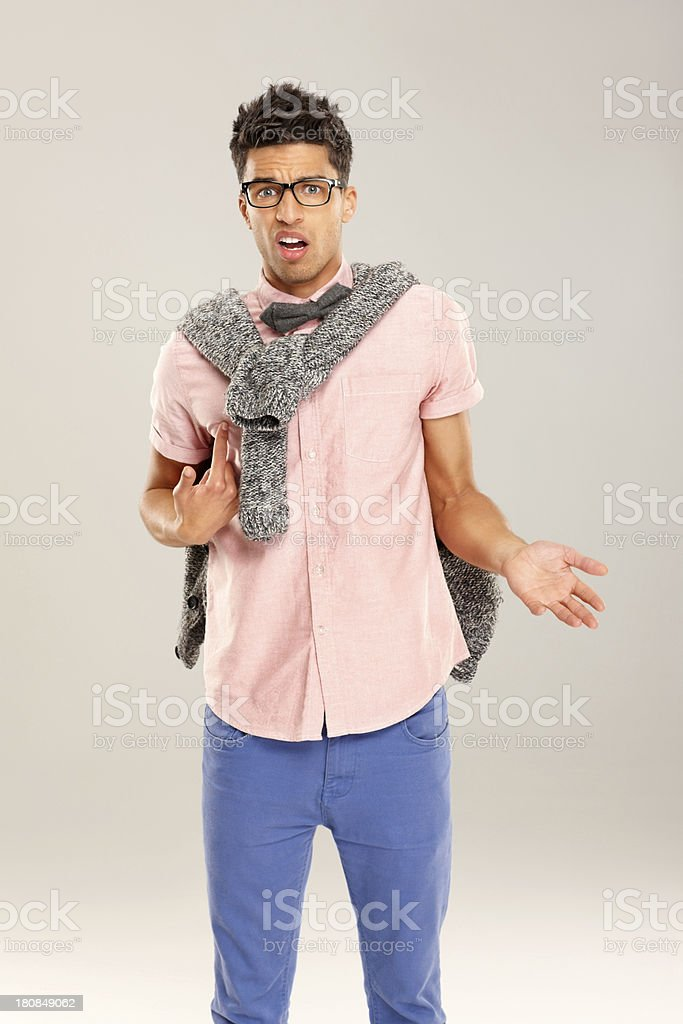 I don't know anything royalty-free stock photo