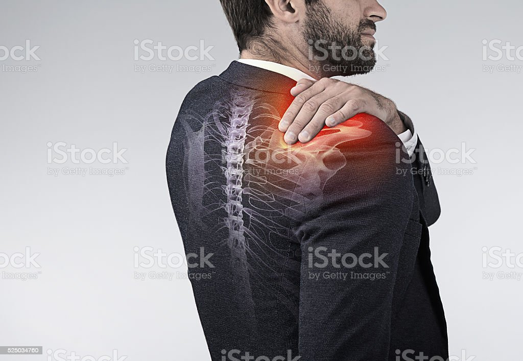 Don't let joint discomfort rule your life stock photo