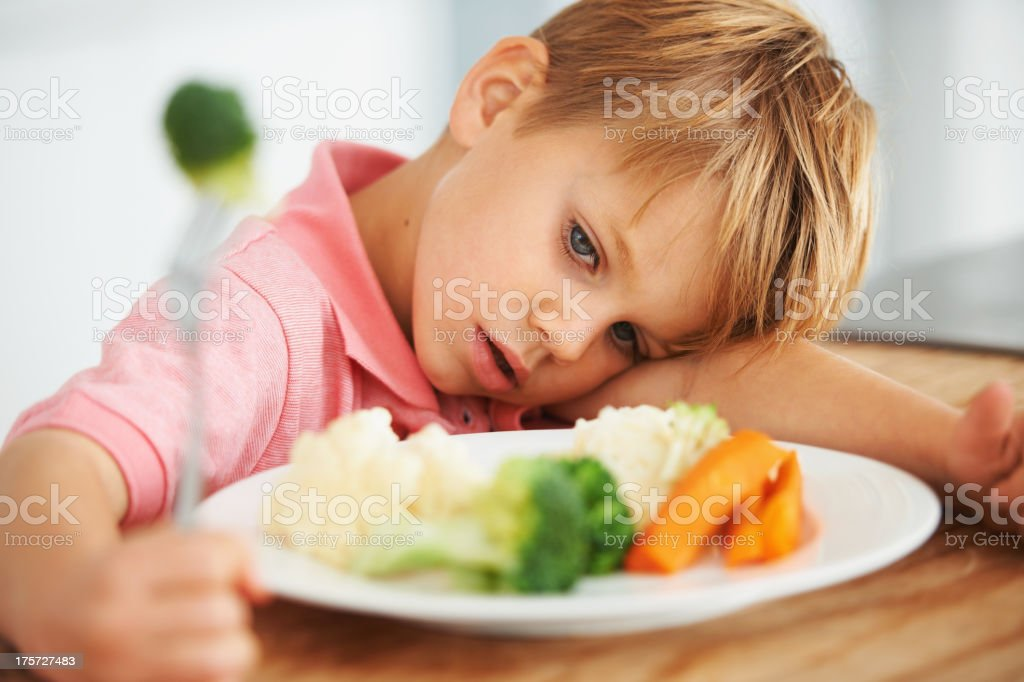 I don't like this food stock photo