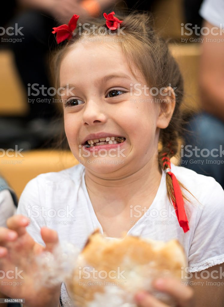 I don't like this sandwich stock photo