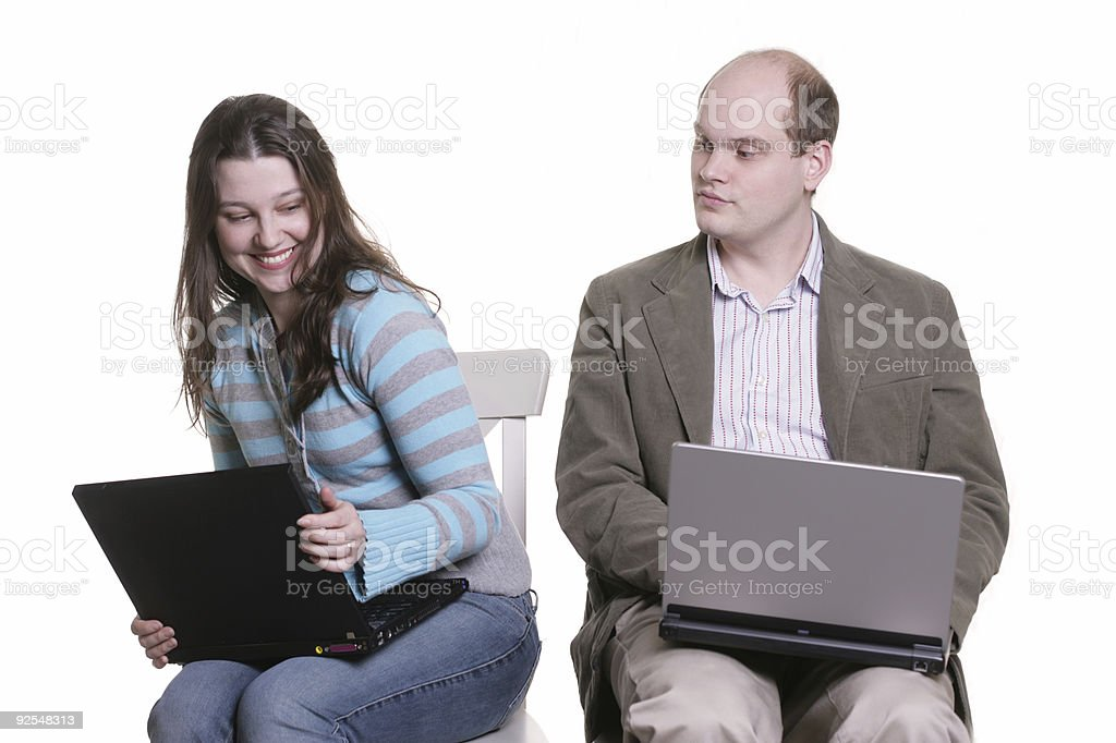 Don't look royalty-free stock photo