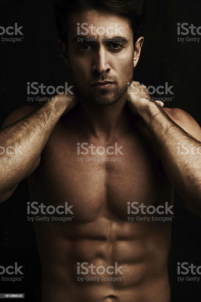 Don't mess with him! royalty-free stock photo