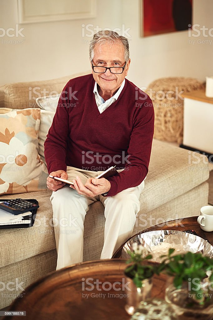 Don't neglect tomorrow due to extravagance today stock photo