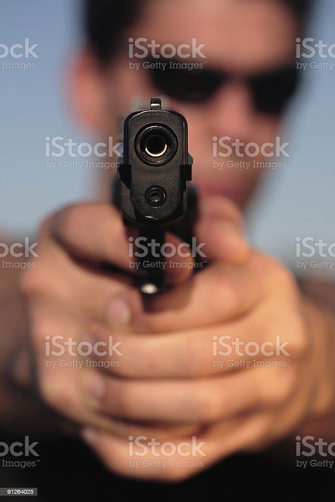 Don't Shoot 9 royalty-free stock photo