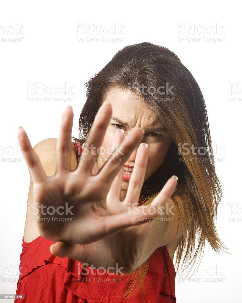 Don't shoot me! royalty-free stock photo