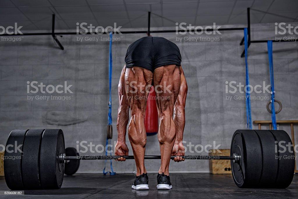 Don`t Skip Leg Day stock photo