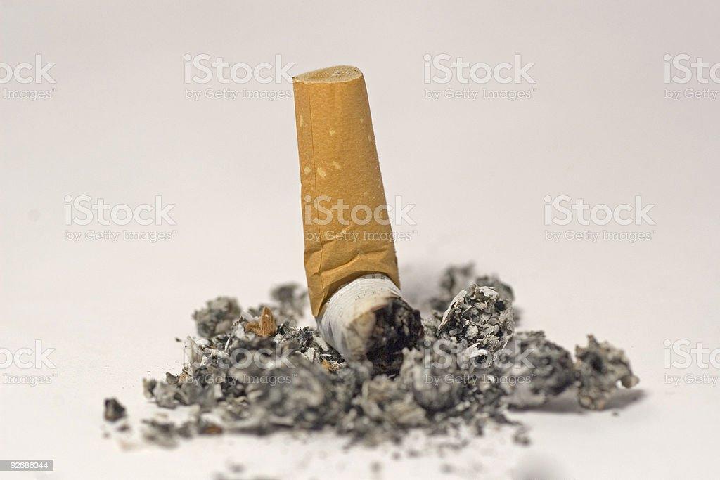 Don't smoke royalty-free stock photo