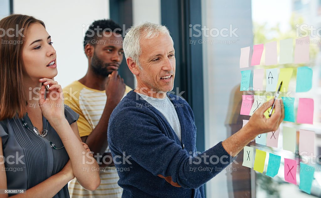 Don't wait for opportunity, create it stock photo