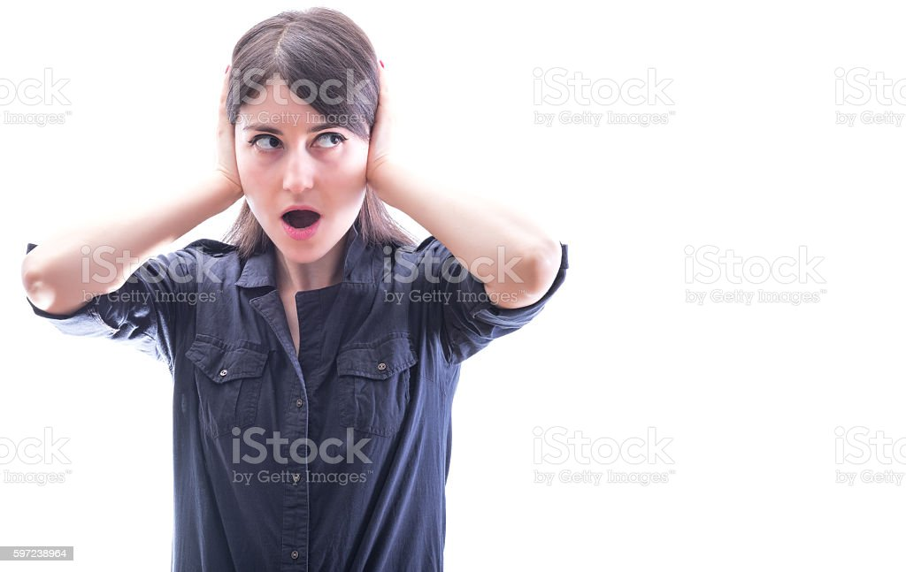 Don't wanna hear stock photo