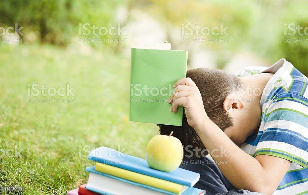 I don't want to read anymore stock photo