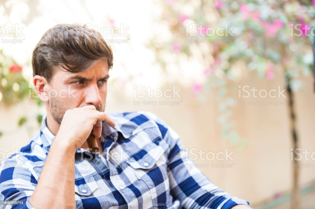 I don't want to talk right now. stock photo