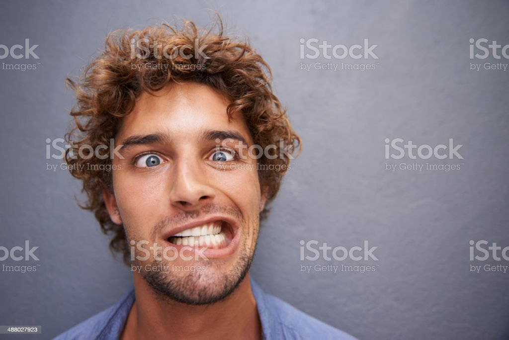 Don't worry, it's not contagious... stock photo
