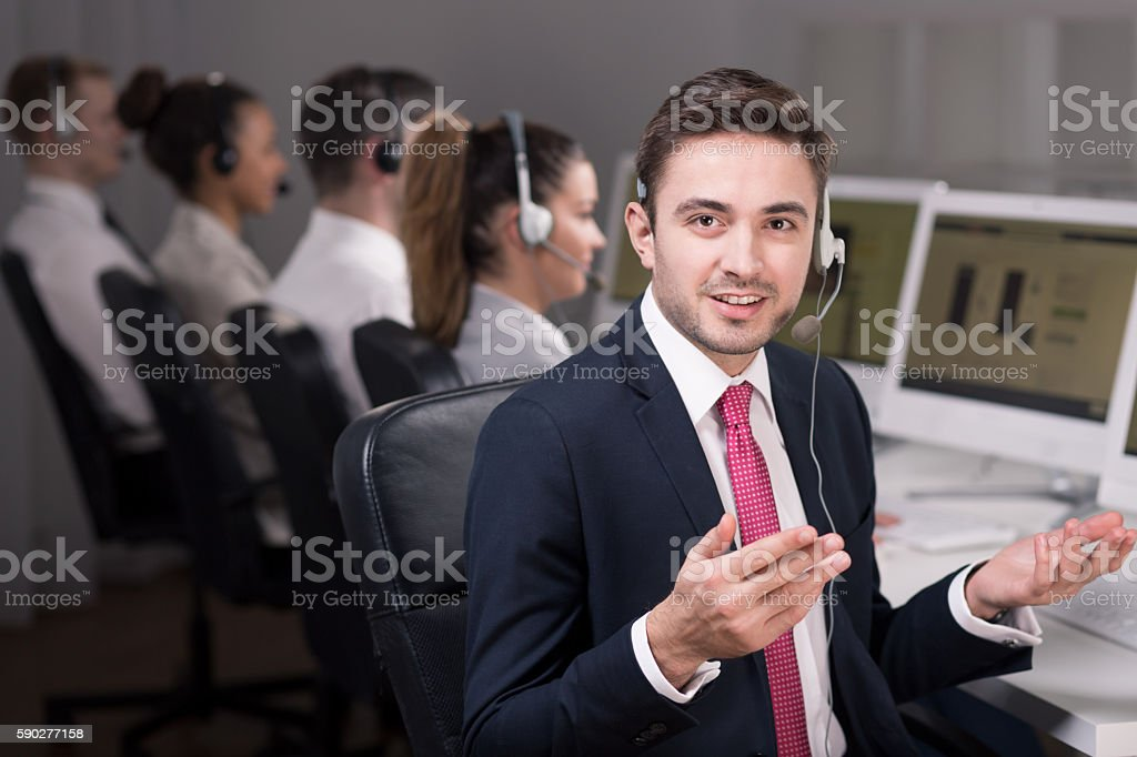 Don't worry, we will find the solution stock photo