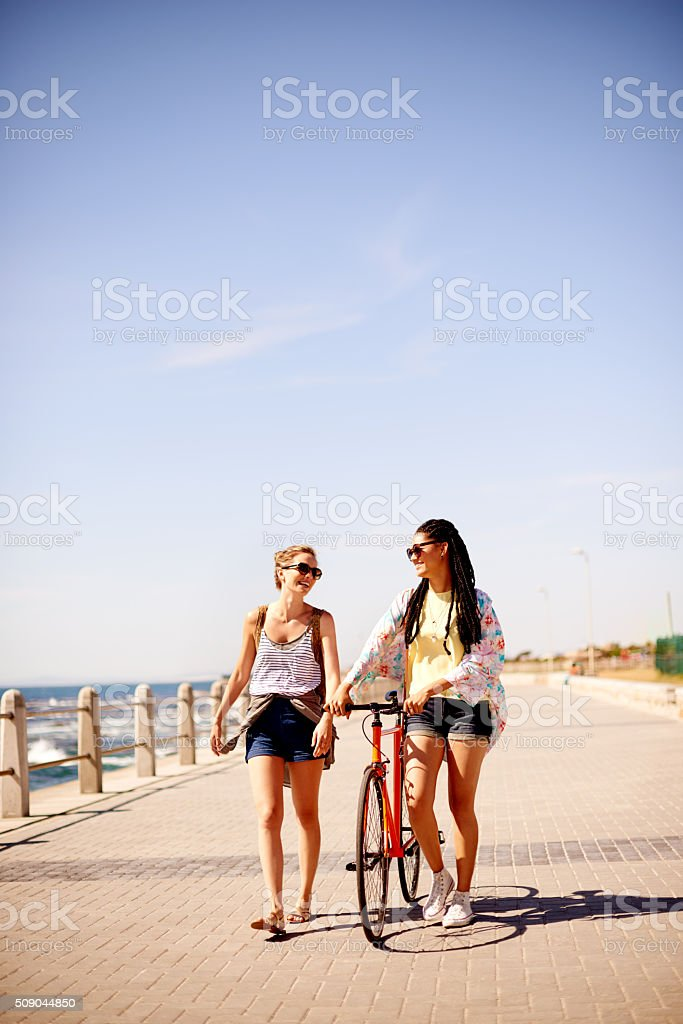 Don't you wish it was summer all year round? stock photo