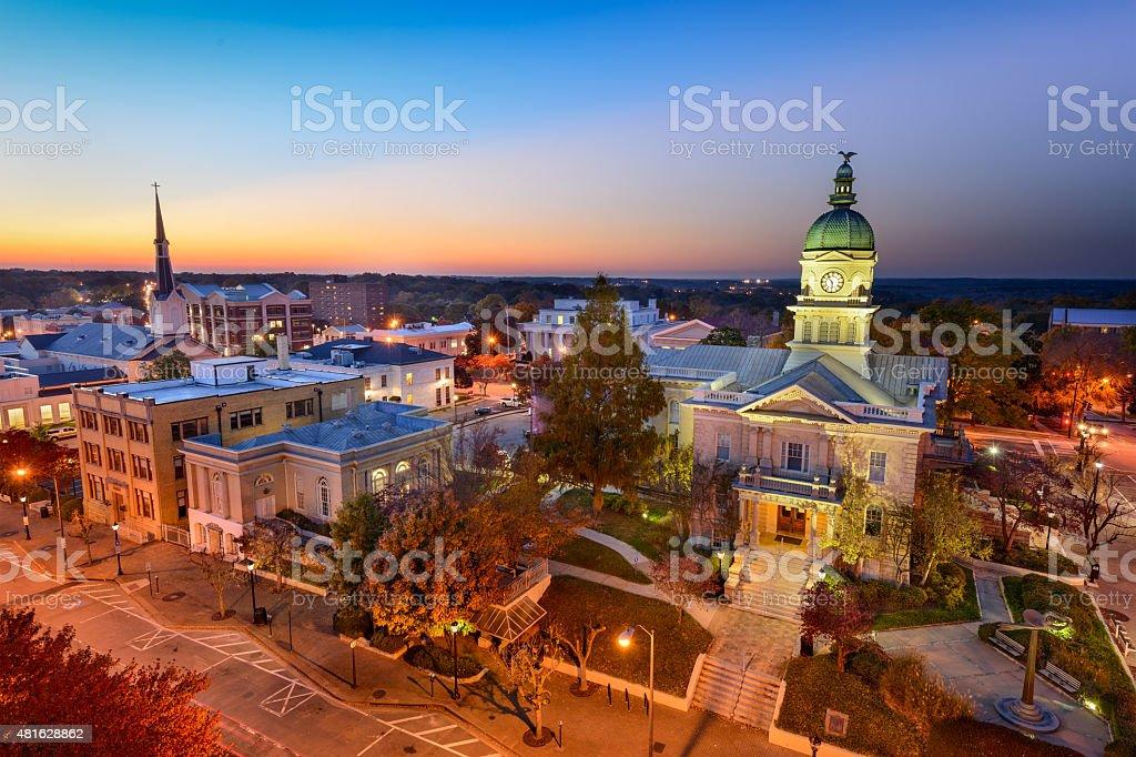 Dontown Athens Georgia stock photo