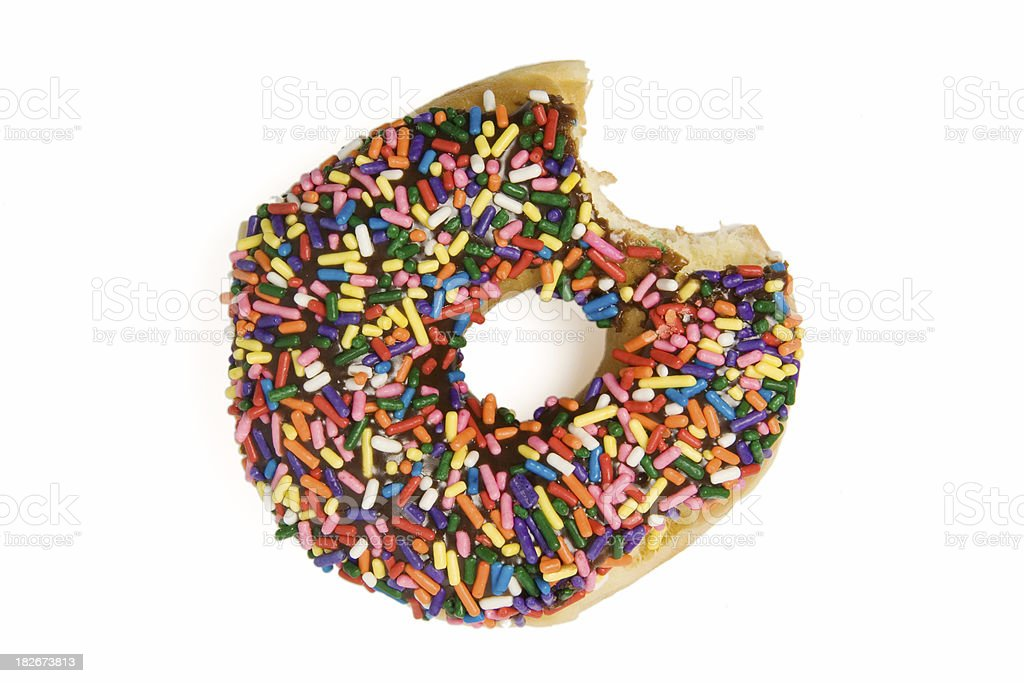 Donut Bite stock photo