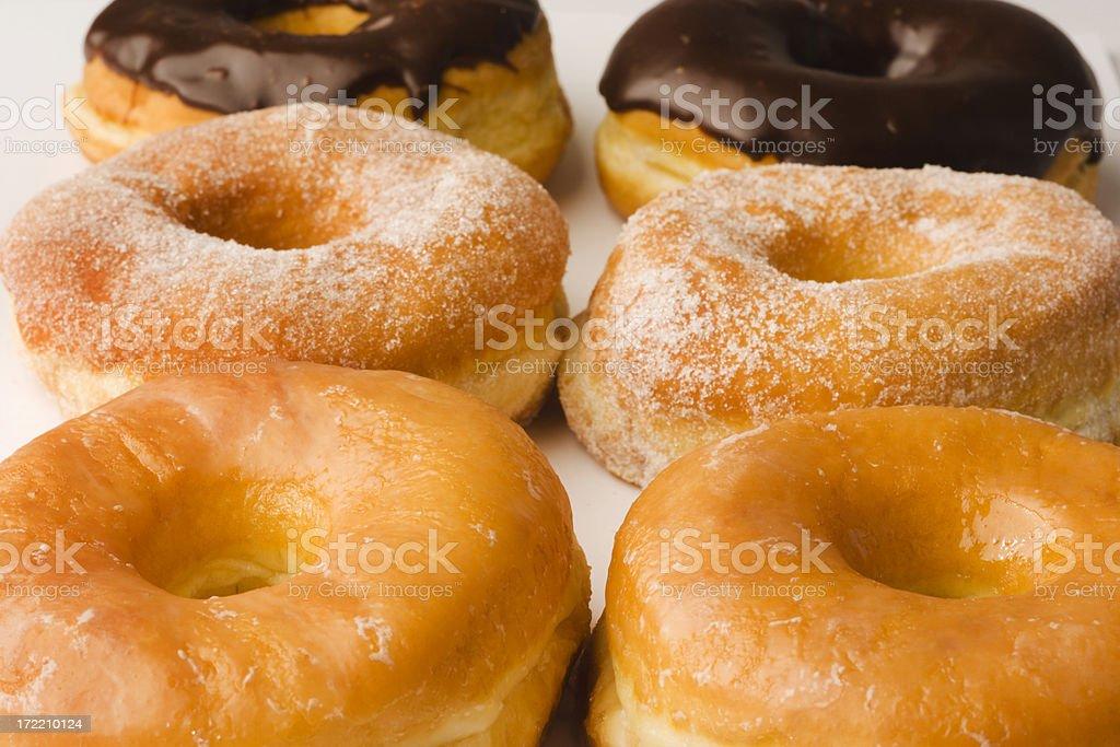 Donut Breakfast royalty-free stock photo