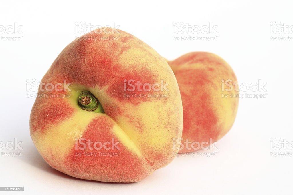donut peaches - Paraguayos royalty-free stock photo