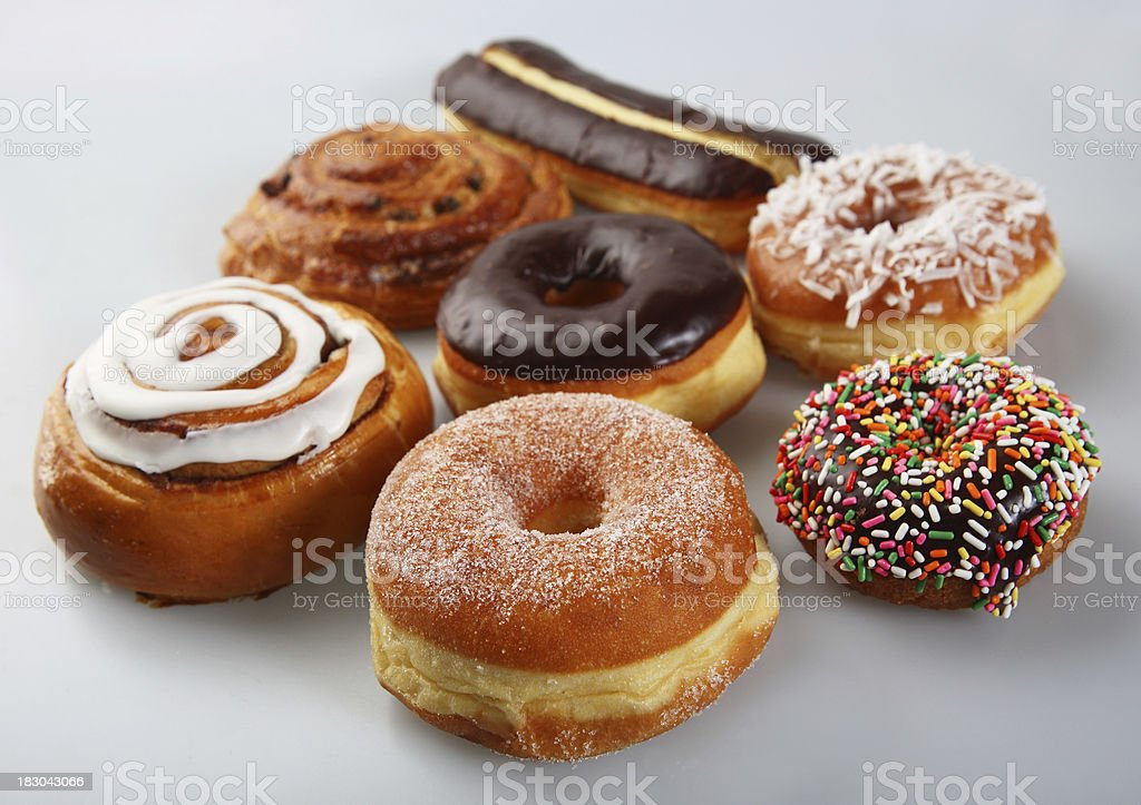 donuts & bun stock photo