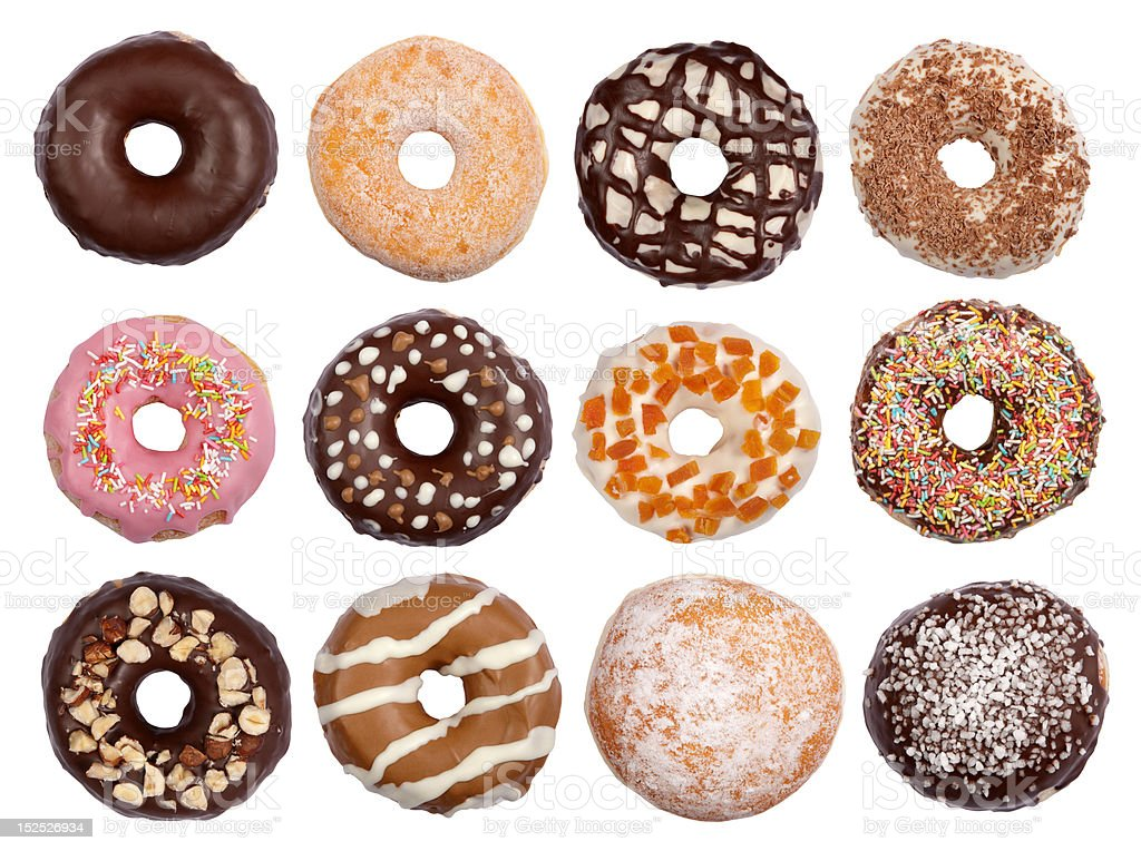 Donuts royalty-free stock photo