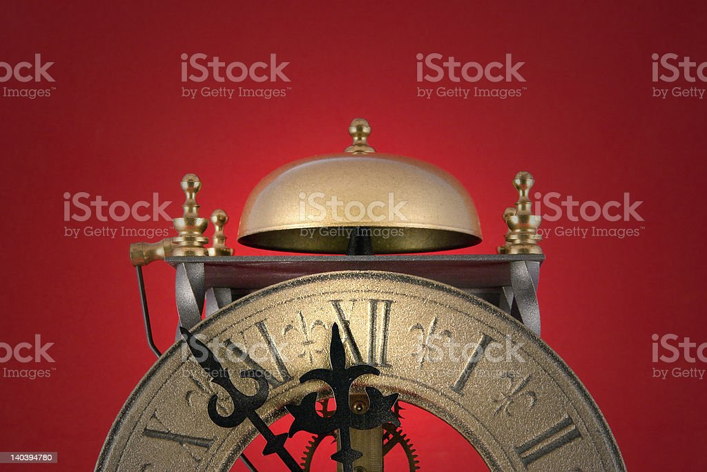 Doomsday Clock royalty-free stock photo
