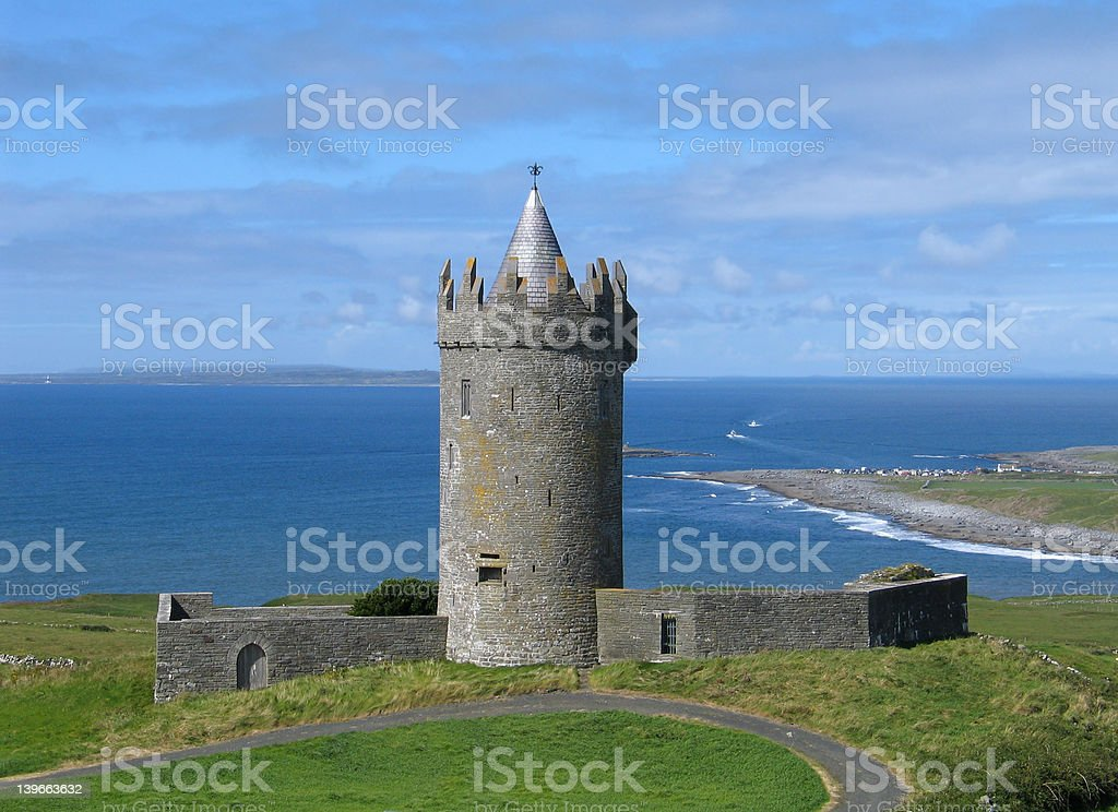 Doonagore Castle royalty-free stock photo