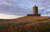 Doonagore Castle Sunset - Ireland