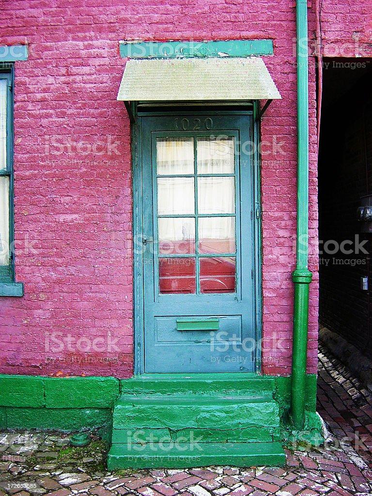 Door 1 royalty-free stock photo
