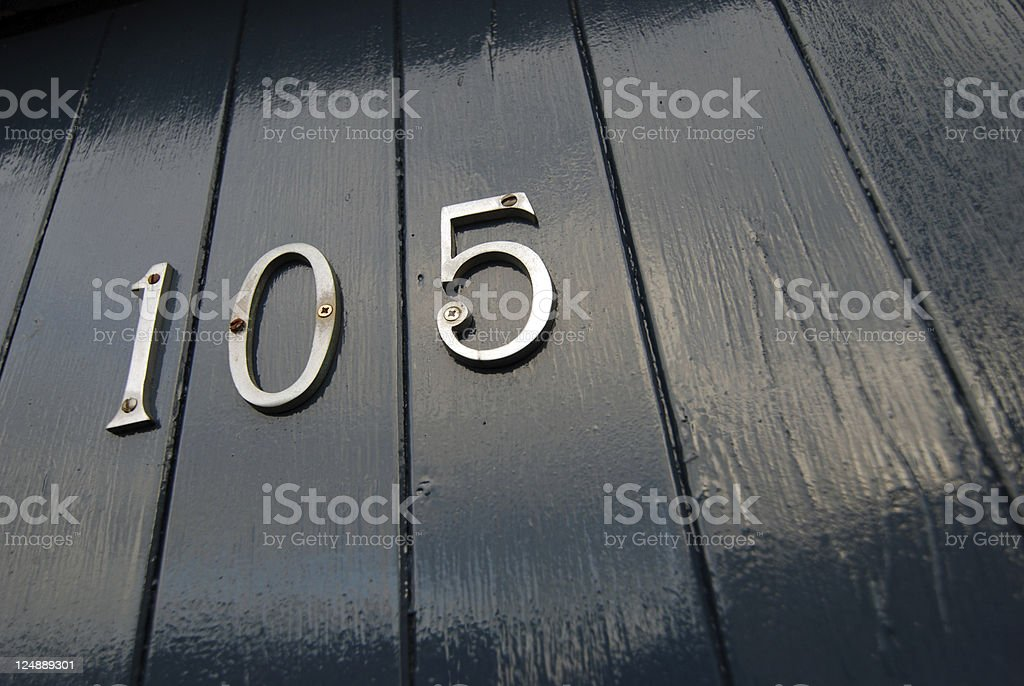 Door 105 royalty-free stock photo