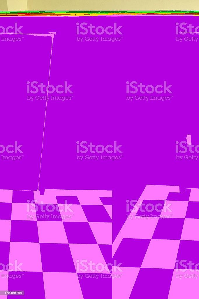 Door and Floor royalty-free stock photo