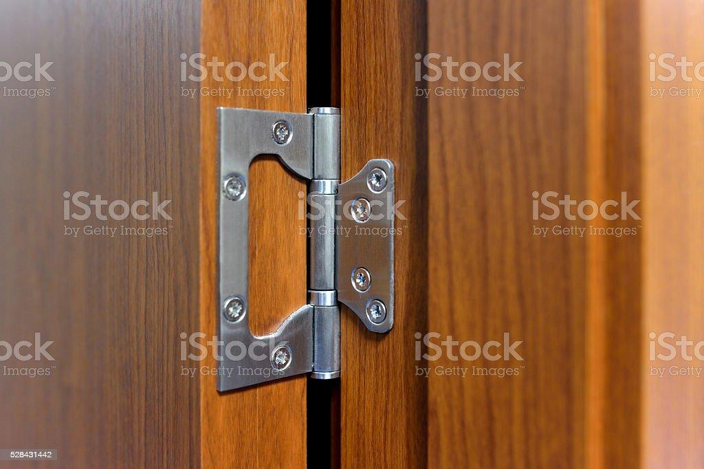 Door and Hinge stock photo