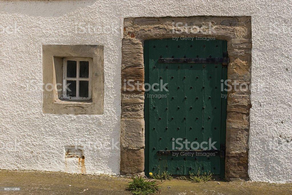 Door and Window royalty-free stock photo