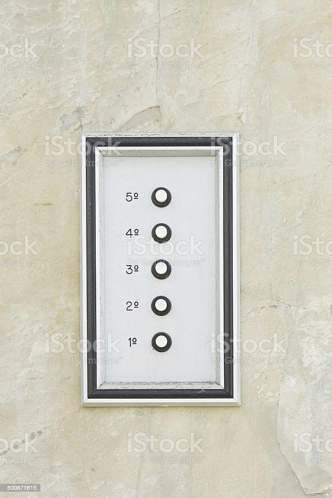 Door bell royalty-free stock photo