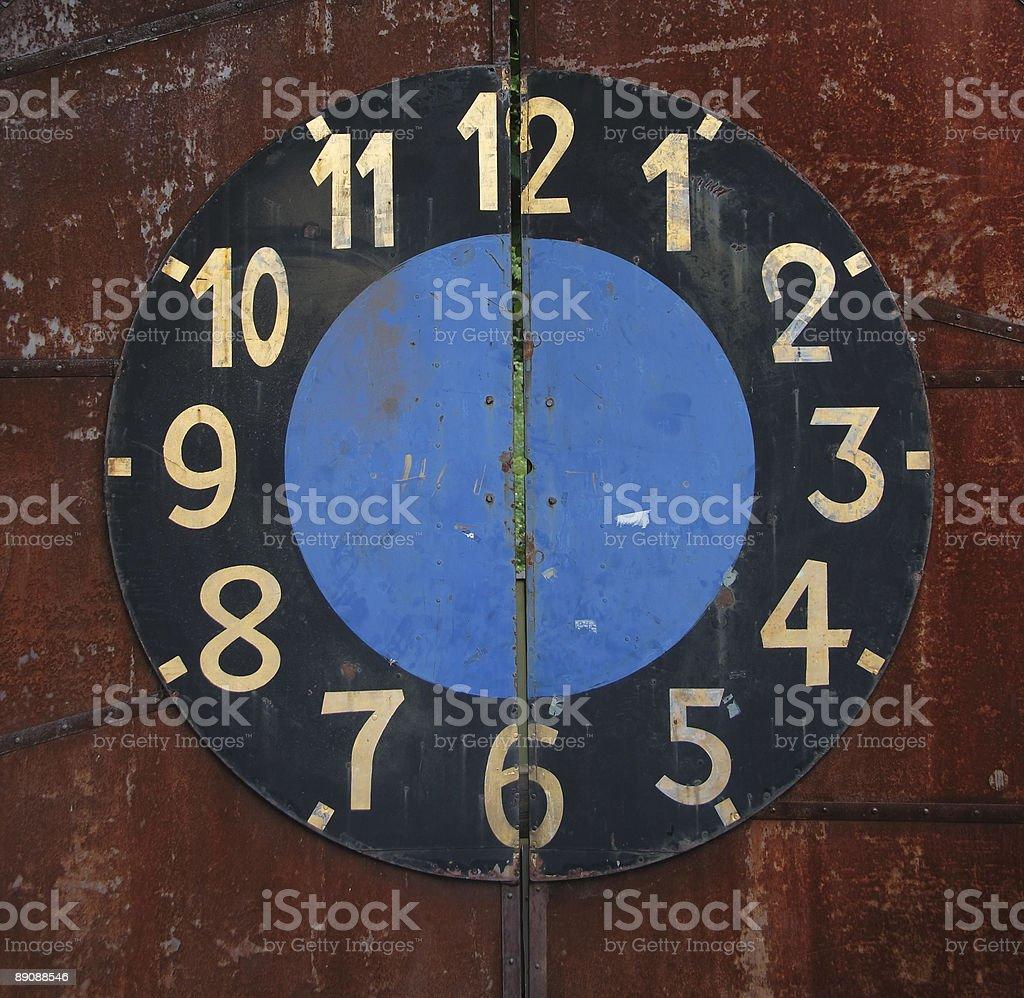 door clock royalty-free stock photo