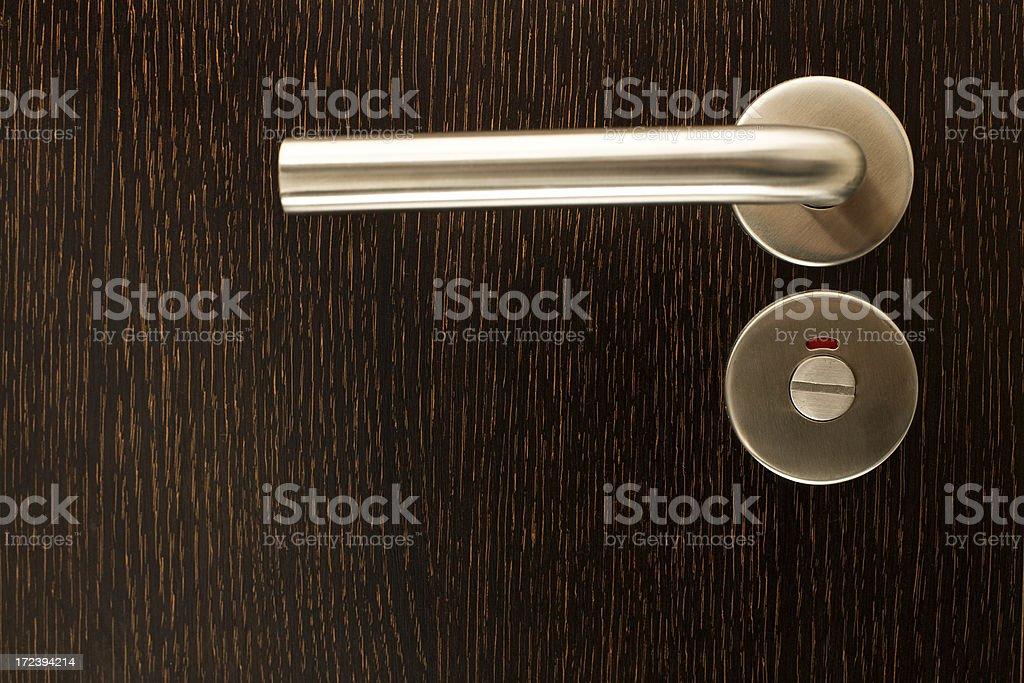 Door closeup closed royalty-free stock photo