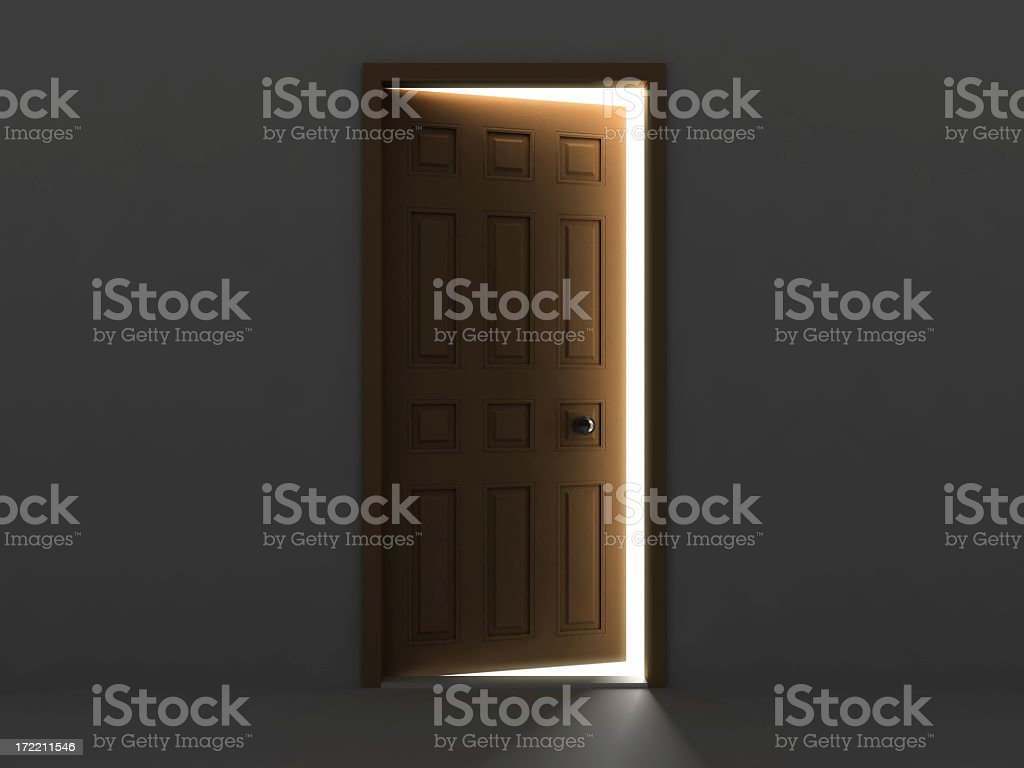 Door Concept V royalty-free stock photo