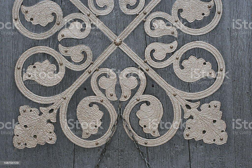 door decoration royalty-free stock photo