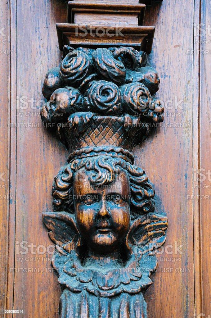 Door Decoration stock photo