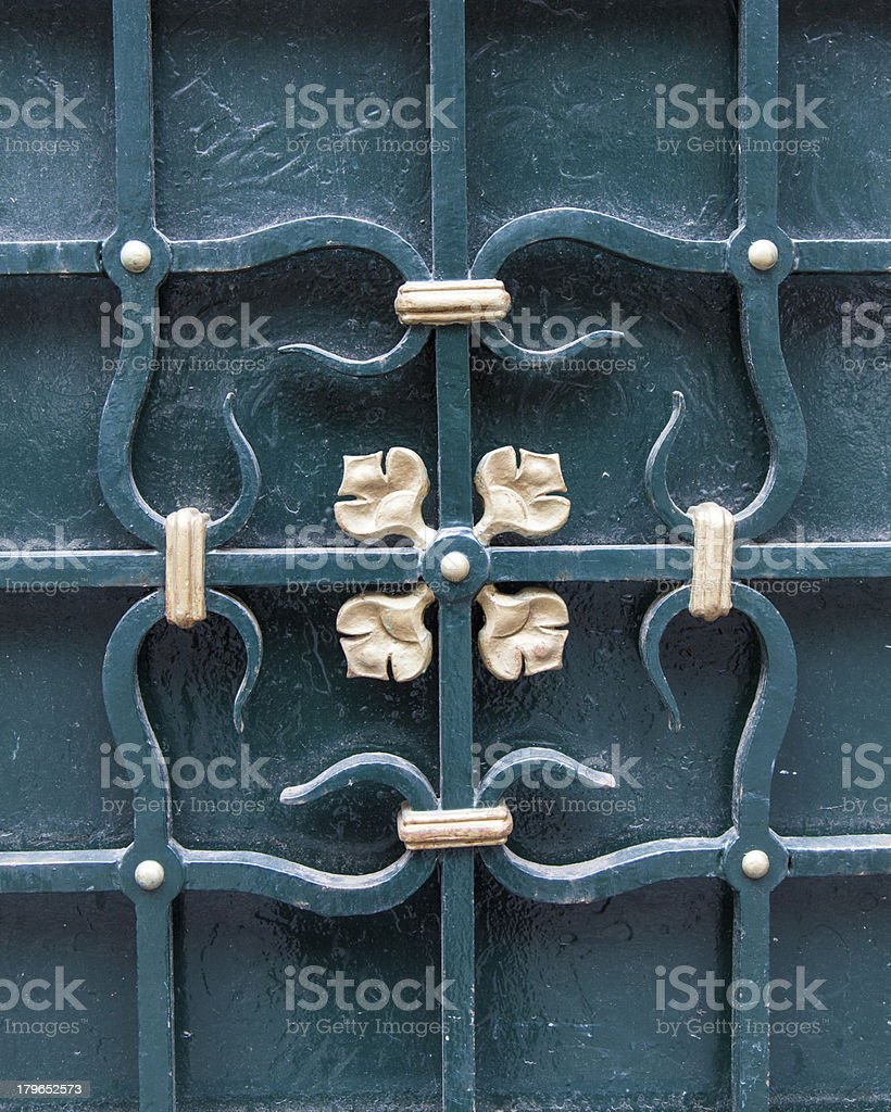 Door decorative element royalty-free stock photo