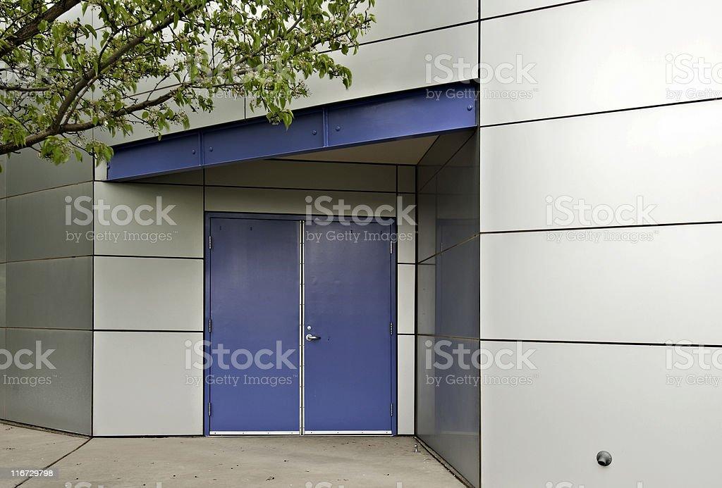 Door Detail - Modern Architecture, Office  Building stock photo