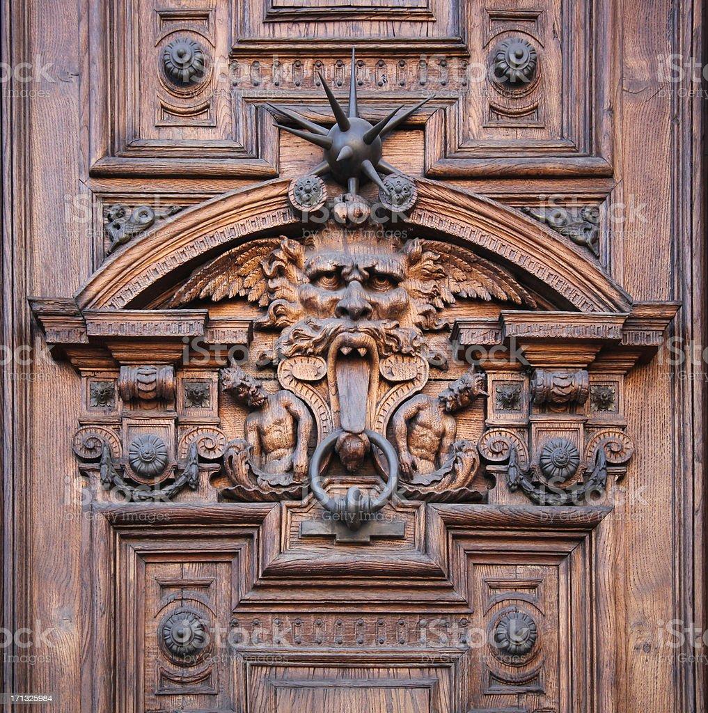 Door Detail royalty-free stock photo