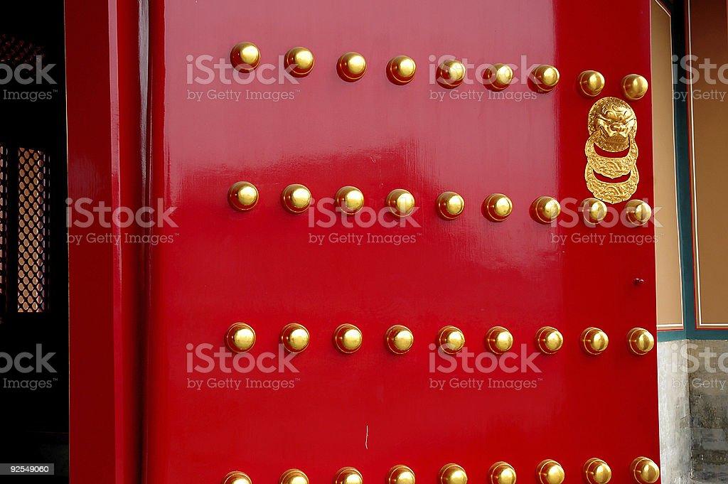 Door details stock photo