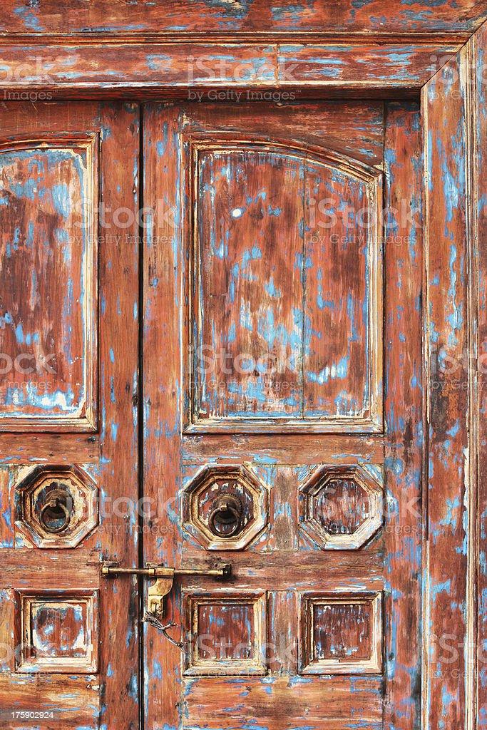 Door Doorframe Doorway Entrance Decor royalty-free stock photo