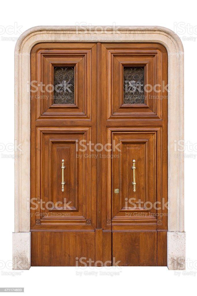 Door entry stock photo