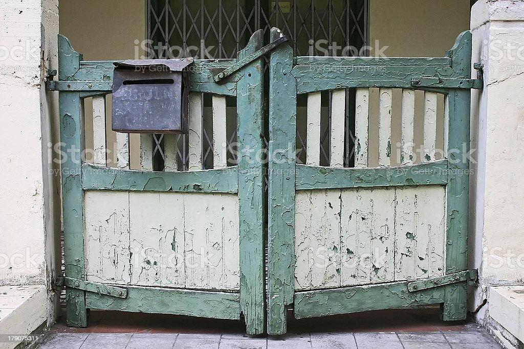 Door gate royalty-free stock photo
