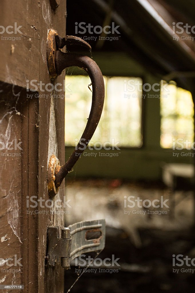Door Handle stock photo